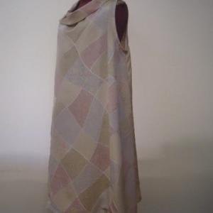正絹の着物からノースリーブスチュニック(オーダー)