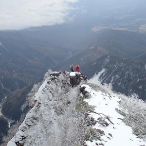 八ヶ岳、権現岳東稜