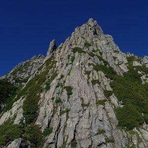 剱岳、チンネ左稜線(番場島~池ノ谷~三ノ窓)②