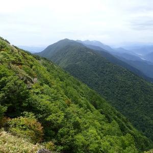 安倍奥、岩岳の岩場&下十枚山