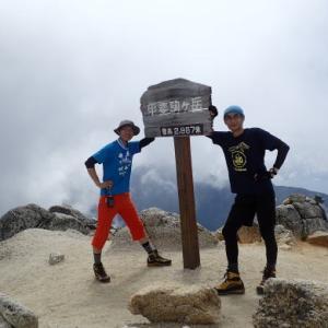 南アルプス大縦走、8泊9日の山旅①
