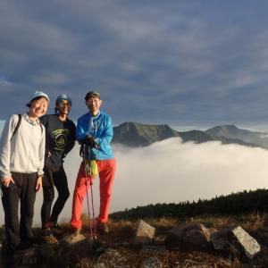 南アルプス大縦走、8泊9日の山旅⑦