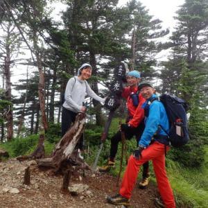 南アルプス大縦走、8泊9日の山旅⑥