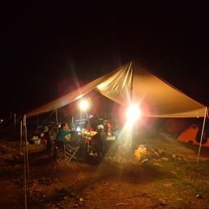 初秋の小川山キャンプ&クラック三昧