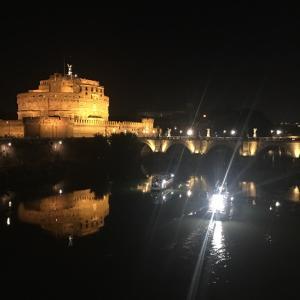 私が大好きなローマの夜景