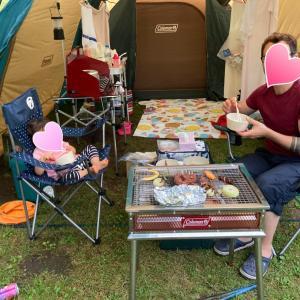 【1歳8ヶ月】娘はじめてのテントキャンプ in 二風谷