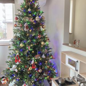 【2歳】クリスマスツリーを飾る楽しみを知った