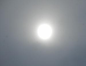 白い太陽&小正月行事