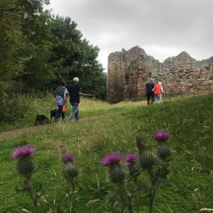 やっと解禁になった国内旅行でスコットランド海辺の古城を訪れました