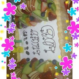 ケーキ→ケーキ