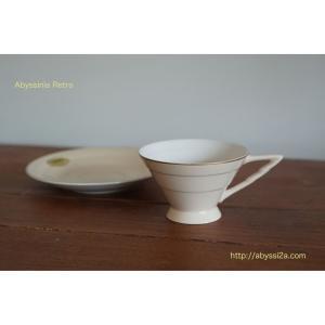東洋陶器のレトロカップ&ソーサー♪