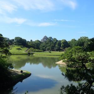 岡山後楽園を写しました! 暑い