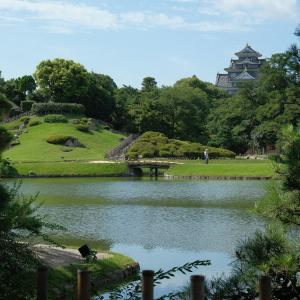 岡山後楽園を写しました!