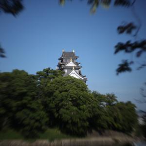 晴れの岡山後楽園を写しました