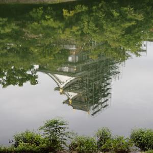 岡山後楽園を写しました