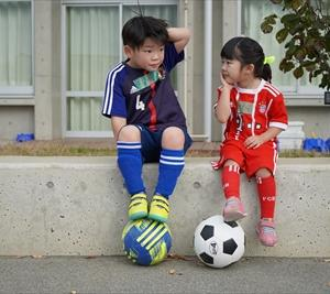 サッカー教室からの突然の・・・