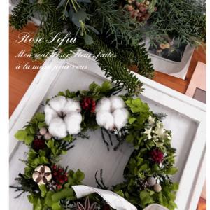 クリスマス&お正月アレンジ~コースレッスンレポ