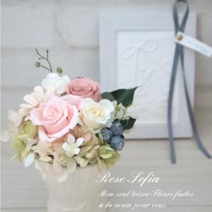 感謝のお花はプリザーブドフラワーが人気です♪