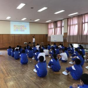 神戸市立横尾中学校でSDGs特別授業&カードゲーム!