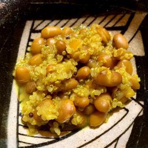 豆+キヌア スパイスカレー