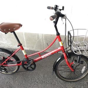 自転車虫ゴム交換