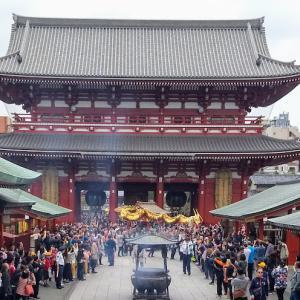 浅草寺の菊供養(2019)