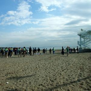 津波防災訓練。