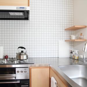 新築時の、ピカピカのキッチンを保ちたい!