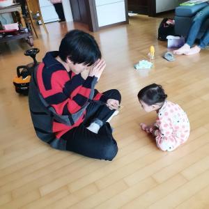 【画像】可愛い!! ユノ光州のご実家でウンチェちゃんとの幸せショットいっぱい