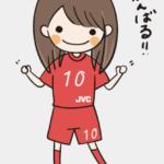 【Twitter】安藤選手監修スタンプ(アプリ)・五本指ソックス(笑)