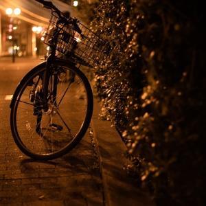 夜の自転車 ♪