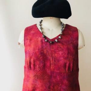 着物着物リメイク・羽織からフェミニンワンピ