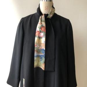 着物着物リメイク・ 留袖から留めそでドレス