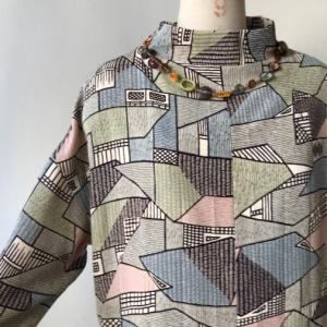 着物着物リメイク・お着物からコクーンワンピース