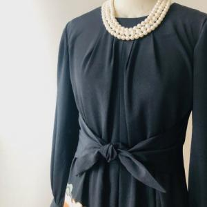 着物リメイク・留袖の着物からロングドレス