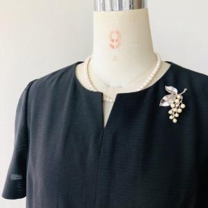 着物リメイク・絽の着物からスリムワンピース