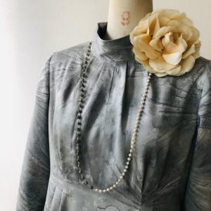 着物リメイク・お着物からワンピースドレス