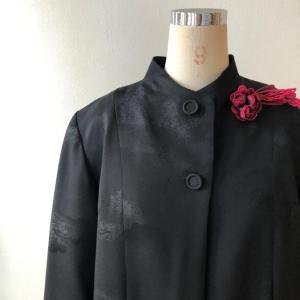 着物リメイク・羽織からシンプルジャケット