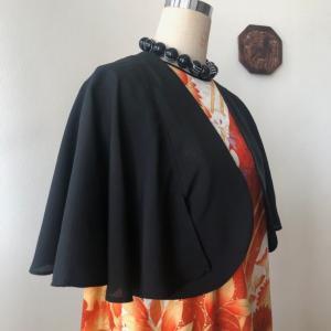 着物リメイク・振袖からドレス&絽のお着物からボレロ