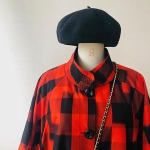 着物リメイク・着物からbigシルエットのコート