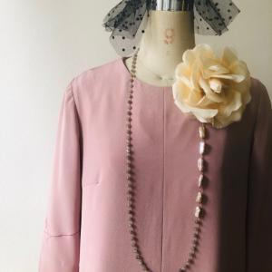 着物リメイク・羽織からワンピース