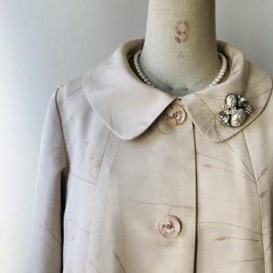 着物リメイク・羽織からAラインワンピース