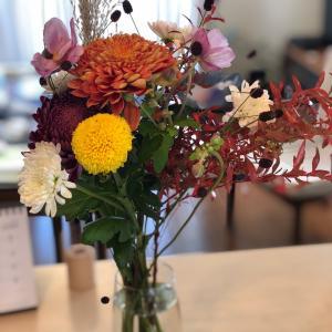 今週の花と洋 揚げ物はまだ早い