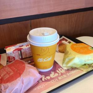 マックで朝ご飯