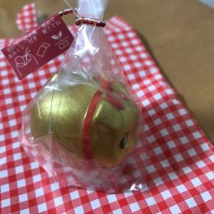 一ノ倉沢ハイキング9 小荒井製菓で花おみくじぶー