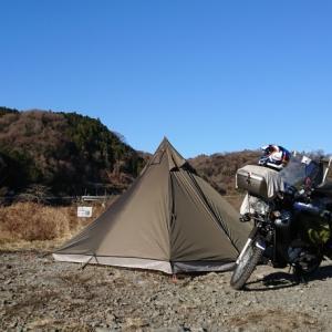 近間でちょこっと新年初キャンプ♪
