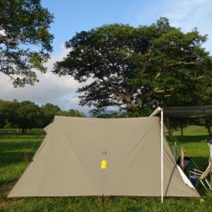 夏のキャンプは高いところで涼しくなきゃ!!…ということでカヤの平高原キャンプ場へ♪