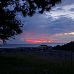 クロスカブで往く♪近くて遠い佐渡島(3~4日目:カヤの平高原キャンプ場で一泊して帰ろう編)