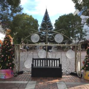 もうクリスマスのイルミネーションが出ていました(3)多摩センター・その1