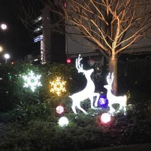 その他の町のクリスマスイルミネーションです